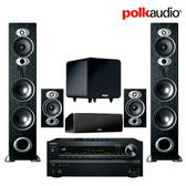 ONKYO TX-NR616+POLKAUDIO  RTI A7 +CSI A4+RTI A1+PSW111  新視聽最佳推薦,同級中C/P值最高 *亞哥音響*