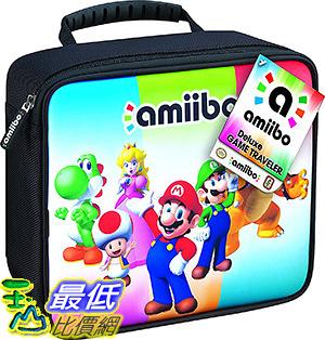 [106 美國直購] RDS Industries, Nintendo Amiibo Game Traveler Carrying Case - Multi-Color