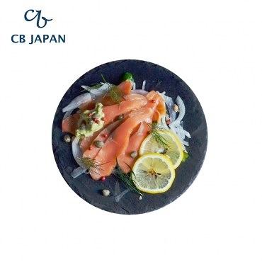 CB Japan SLATE自然風板岩餐盤-圓型