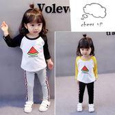 女寶寶秋裝0 女童1 純棉春秋  3 歲女嬰兒t 恤打底衫潮品4 CY 潮流站