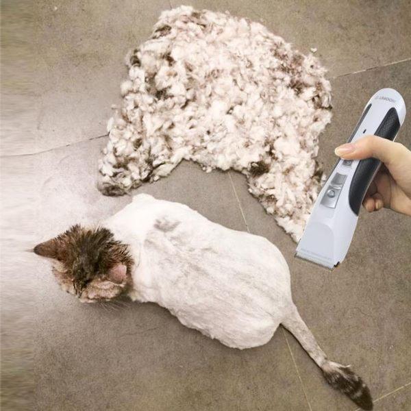 貓咪專用電推剪剃毛器靜音剃貓毛器寵物剃腳毛器狗狗推子狗理發器 薇薇