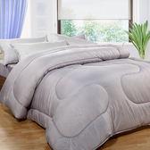 【床之戀】台灣製竹炭纖6x7尺雙人加大暖暖被(180x210cm)