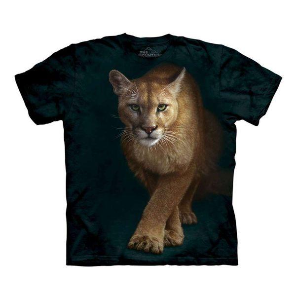 【摩達客】(現貨)美國進口The Mountain  狩獵獅 純棉環保短袖T恤(10416045032a)