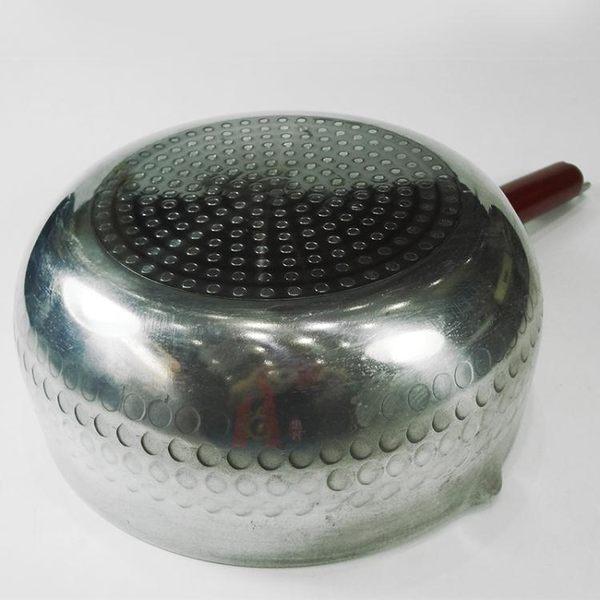 雪平鍋-加厚鋁制日式單木柄鋁制奶鍋煮面煮粥輔食天燃氣專用鍋具 滿498元88折立殺