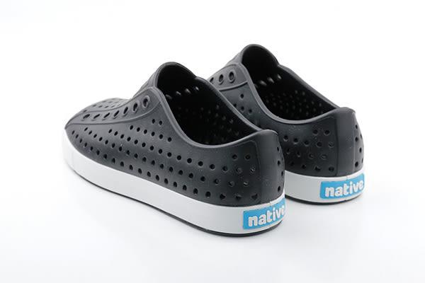 native JEFFERSON 懶人鞋 洞洞鞋 防水 雨天 黑色 男鞋 女鞋 11100100-1105 no452