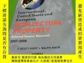 二手書博民逛書店INTELLECTUAL罕見PROPERTY 2007-2008
