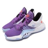 adidas 籃球鞋 D.O.N. Issue 1 J 蜘蛛人 紫 白 女鞋 大童鞋 運動鞋 【PUMP306】 EH2433