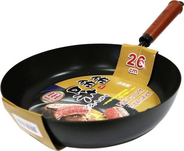 【佐佐味】碳鋼平底鍋 26cm