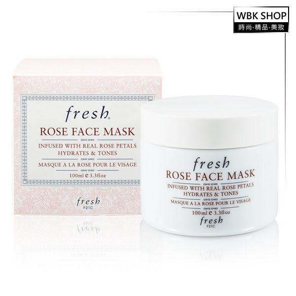 Fresh 玫瑰潤澤保濕面膜 100ml - WBK SHOP