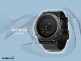 【時間道】GARMIN -預購- fenix® 5X 全彩地圖進階複合式戶外GPS腕錶-黑(010-01733-11)免運費