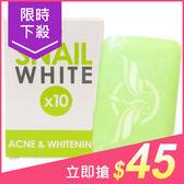 泰國 Snail White 蝸牛原液10倍煥白抗痘潔面皂(70g)【小三美日】原價$49