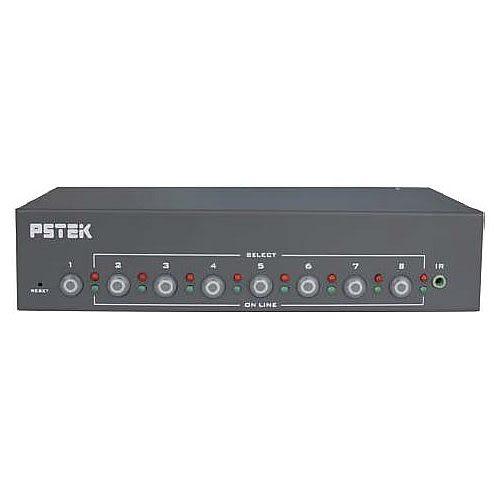 【免運費】Pstek VS-18 8埠VGA視訊螢幕切換器