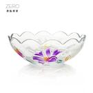 玻璃深盤 水果深盤 派對碗 點心碗 (彩色) 原點居家創意