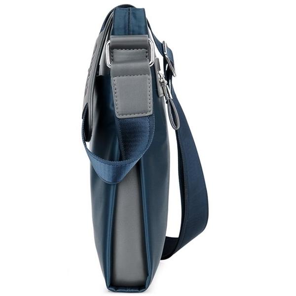 男包牛津布側背包商務休閒斜背包韓版男士包包帆布潮流背包 黛尼時尚精品