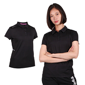FIRESTAR 女彈性短袖POLO衫(短袖上衣 慢跑 路跑 免運 ≡排汗專家≡