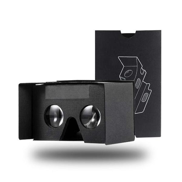 Google cardboard二代VR紙盒頭戴式手機3d虛擬現實眼鏡紙質VR