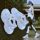 涼鞋女夏季新款韓版鏤空透氣洞洞鞋平底羅馬鞋學生運動涼鞋女