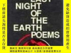 二手書博民逛書店The罕見Last Night Of The Earth PoemsY364682 Bukowski C Ec