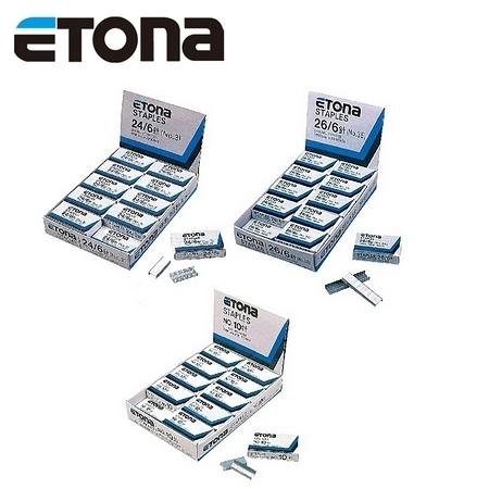 日本 ETONA  23/10 釘書針 多功能 訂書針 /盒