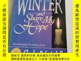 二手書博民逛書店COME罕見BEFORE WINTER AND SHARE MY HOPE在冬天到來之前分享我的希望(沒勾畫)