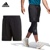 Adidas 4Krft Climacool 男 黑 運動短褲 休閒褲 慢跑褲 訓練褲 Climacool 拉鍊口袋 透氣 CD7807