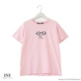 【INI】週慶限定、活潑可愛圖案上衣.粉色
