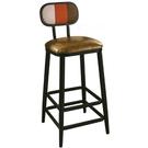 吧檯桌椅 SB-421-9 賽納彩色條吧台椅【大眾家居舘】
