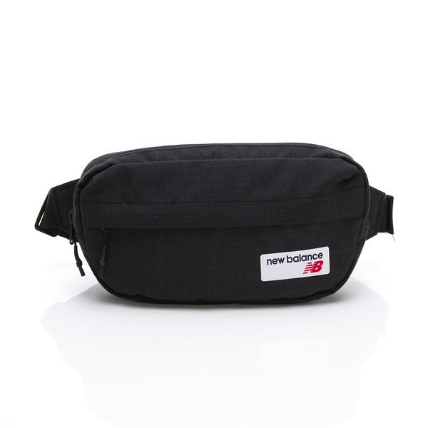 NEWBALANCE 黑 腰包 側背包 斜揹袋 斜揹包 (布魯克林) LAB93020BK
