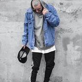 牛仔外套男女 秋季韓版潮帥氣社會小夥青年嘻哈複古休閑寬松夾克