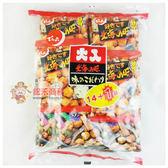 日本零食傳六二色綜合豆果子351g(14+1包入)【0216零食團購】4901930081014
