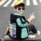 兒童外套 童裝男童外套春裝2021年新款兒童春秋款洋氣韓版中小童男孩風衣潮 歐歐