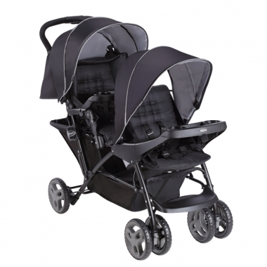 GRACO-雙人前後座嬰幼兒手推車城市雙人行Stadium Duo【六甲媽咪】