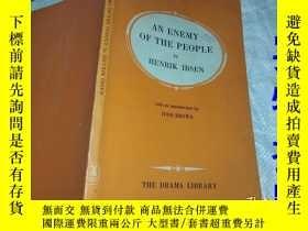 二手書博民逛書店AN罕見ENEMY OF THE PEOPLE BY HENRI