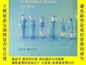 二手書博民逛書店Quantitative罕見Approaches in Business Studies sixth editio