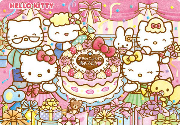 【拼圖總動員 PUZZLE STORY】生日快樂 日系/Tenyo/Hello Kitty/兒童/41P/紙板相框