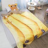 ins香蕉水果雙人夏季薄被子單雙人空調被學生宿舍夏天兒童蓋被 漾美眉韓衣