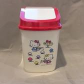 三麗鷗 hello kitty 方型垃圾桶 正版授權 收納盒收納桶 車用垃圾桶 辦公室 沂軒精品 U0005