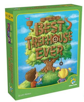 【楷樂】夢幻樹屋 Best Treehouse Ever - 繁中正版桌遊 《德國益智遊戲》中壢可樂農莊