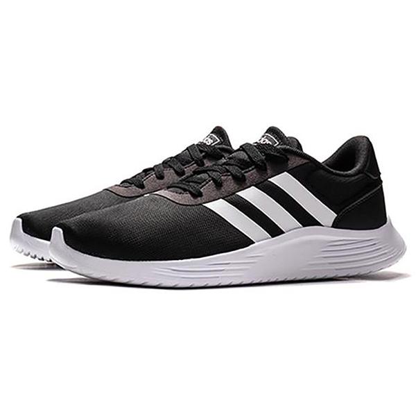 【現貨】Adidas LITE RACER 2.0 男鞋 慢跑 休閒 輕量 透氣 黑【運動世界】EG3283