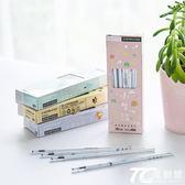 筆芯 盒裝30支筆芯Z可愛黑色0.5mm水筆芯學生用中性筆芯