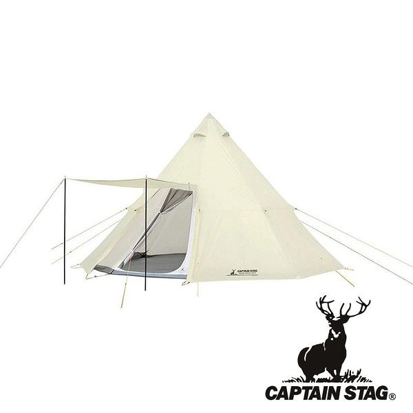 【CAPTAIN STAG】鹿牌 經典白色八角帳 UA0035 居家.露營.戶外.野炊.野餐.帳篷.