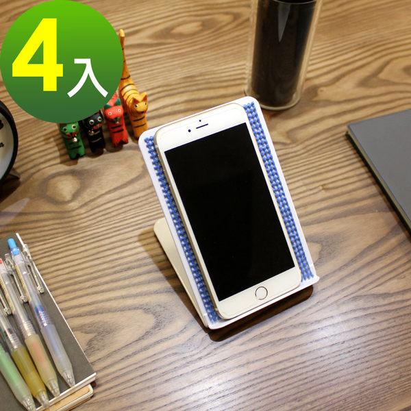 [鐵板製]固定式-手機架 平板電腦支架(三色可選)-4入/組 MIT台灣製CS-MIX-4