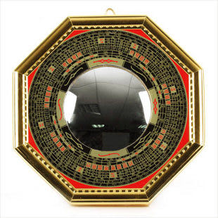 合金太極八卦凸鏡