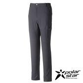 PolarStar 中性 輕便多口袋長褲 釣魚褲│休閒褲│吸濕排汗褲│四向彈性3D立體剪裁『鐵灰』P16417