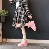 雪地靴 雪地靴女正韓百搭平底短靴保暖冬鞋短筒加絨刷毛棉鞋 酷我衣櫥
