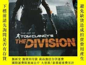二手書博民逛書店The罕見Art of Tom Clancys The Division (硬精装 大16开)Y26220 P