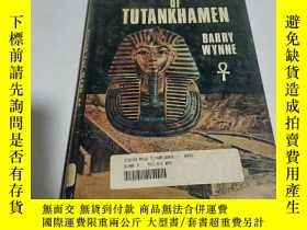 二手書博民逛書店BEHIND罕見THE MASK OF TUTANKHAMEN
