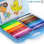 黑五好物節塑料兒童蠟筆幼兒園安全無毒可水洗【洛麗的雜貨鋪】