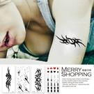 紋身貼紙   防水仿真刺青貼紙 身體彩繪圖案 男女通用貼紙 【TT003】