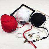 棒球帽 字母 長帶子 嘻哈 潮 鴨舌帽 棒球帽【QI8030】 BOBI  04/27